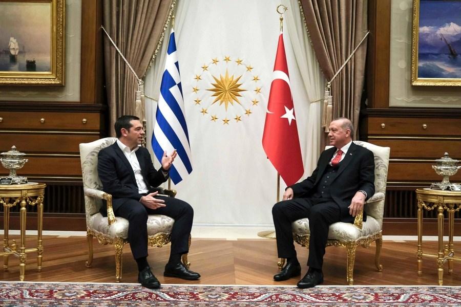 Τσίπρας-Ερντογάν: Το ρεζουμέ της συνάντησής τους - οι κοινές δηλώσεις και οι πληροφορίες από διπλωματικές πηγές