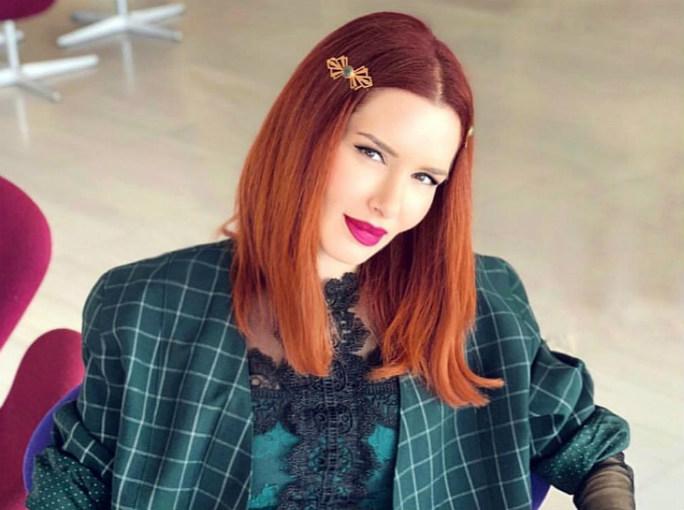 "Tζώρτζια Βαϊνά: ""Δεν μου φτάνουν τα γυναικεία ρούχα, αγοράζω και αντρικά"" (φωτογραφία)"