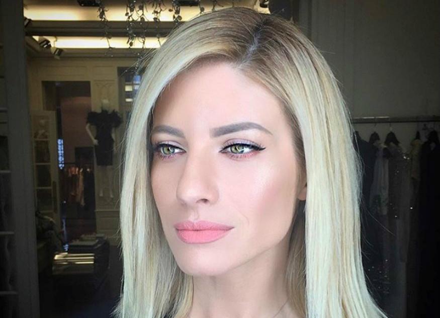 Ευαγγελία Αραβανή: πώς πετυχαίνει τόσο υπέροχο βλέμμα