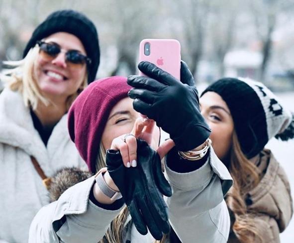 Σαββατοκύριακο στα χιόνια για Λασκαράκη-Οικονομάκου-Κοντοβά (φωτογραφίες)