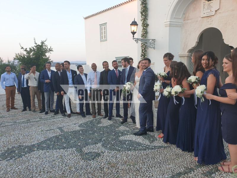 Γάμος Σπέτσες Αρμενάκη εντυπωσιακές παράνυφες