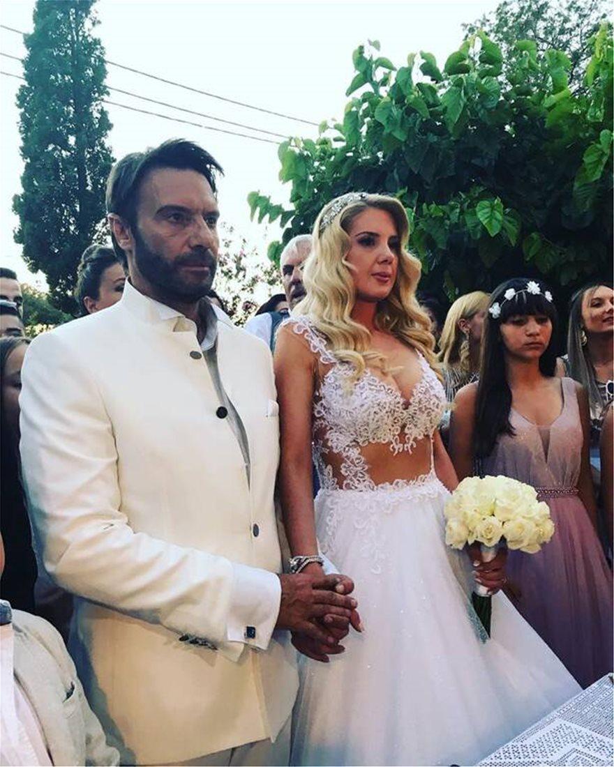 Σέξι νύφη Μαριόλα στο πλευρό του Τζώρτζογλου