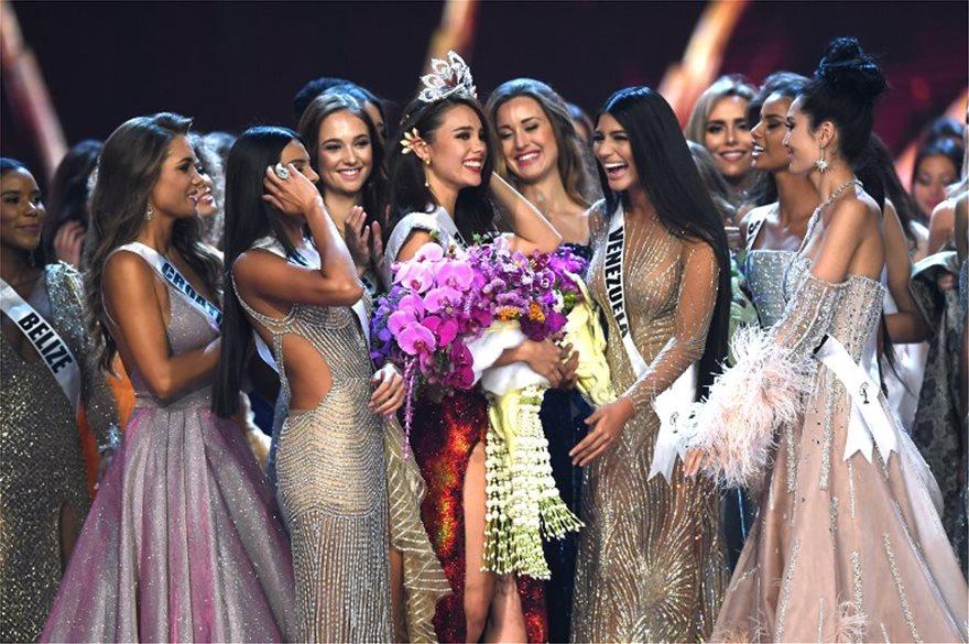 «Μις Υφήλιος»: Η 24χρονη Κατριόνα Γκρέι από τις Φιλιππίνες κέρδισε τον τίτλο