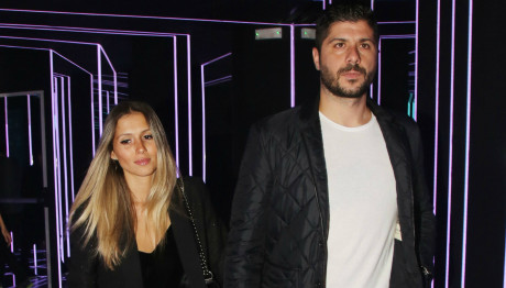 Μιχάλης Σηφάκης και Όλγα Στεφανίδη διασκέδασαν με Melisses και Τάμτα
