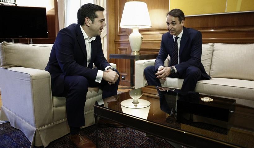 MRB: Εξακολουθεί να προηγείται, παρά την 13η σύνταξη -κατά 6,5%- η ΝΔ έναντι του ΣΥΡΙΖΑ