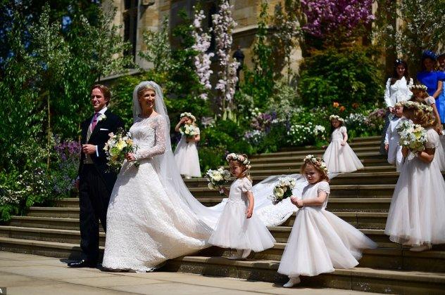 Glam γάμος στο Μπάκιγχαμ: Η λαίδη Gabriella παντρεύτηκε - η σχέση της με την Ελλάδα