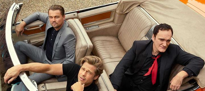 Tarantino, Di Caprio, Pitt φωτογραφίζονται μαζί & συζητάνε για τον Luke Perry και όχι μόνο