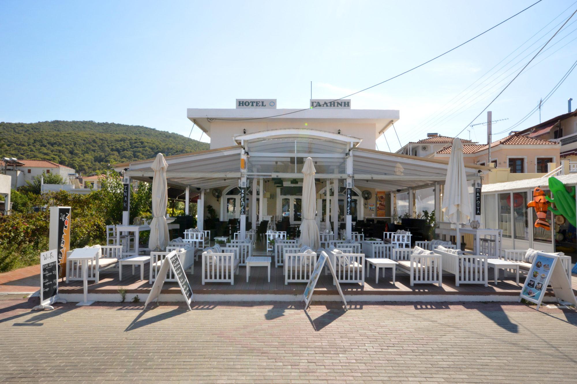 Μελίρυτον café-creperie – Hotel Γαλήνη