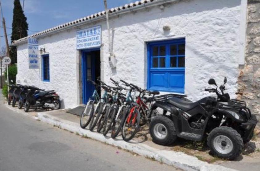 Ηλίας  Ενοικιάσεις moto – ποδηλάτων