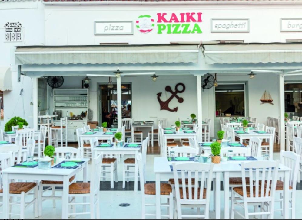 ΚΑΙΚΙ PΙΖΖA- CLOCK your pizza on the island!