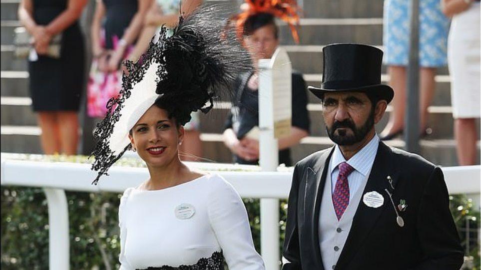 """To """"xρυσό διαζύγιο"""" της Βρετανίας: Έπιασε ο σεΐχης """"στα πράσα"""" την πριγκίπισσα Χάγια με τον σωματοφύλακά του;"""