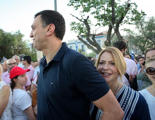 Tι έκανε η Μπαλατσινού με τον Κικίλια λίγο πριν τις εκλογές: φωτογραφίες