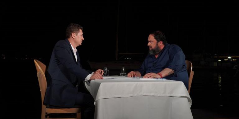 """Βαγγέλης Μαρινάκης εφ' όλης της ύλης: """"Τα 5 εκατομμύρια ψέματα του Τσίπρα"""""""