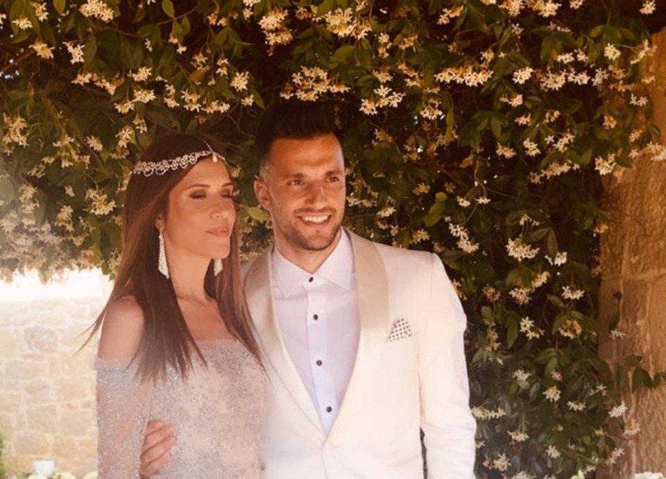 Εύα Δελλή-Ανδρέας Σάμαρης: Ο γάμος, το διπλό baby bloom και οι λαμπεροί καλεσμένοι (φωτογραφίες)