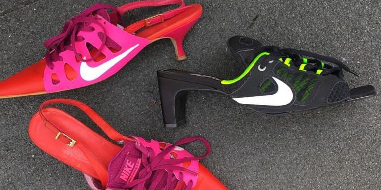 Nike με τακούνι: Κι αν διxάζουν, έγιναν viral (φωτογραφίες)