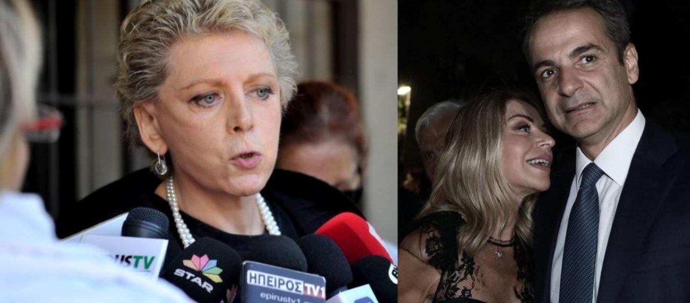 """""""Πόλεμος"""" Ακρίτα-Στάη εν όψει: """"Οι δημοσιογράφοι δεν χαριεντιζόμαστε με πολιτικούς"""" - τι είπε η Έλλη στο Προεδρικό με Μητσοτάκη-Τσίπρα"""