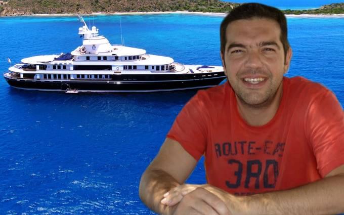 """Πρόκληση: O Tσίπρας ξανακάνει διακοπές με σκάφος; Ποιος τον """"έδωσε"""" (φωτογραφίες)"""