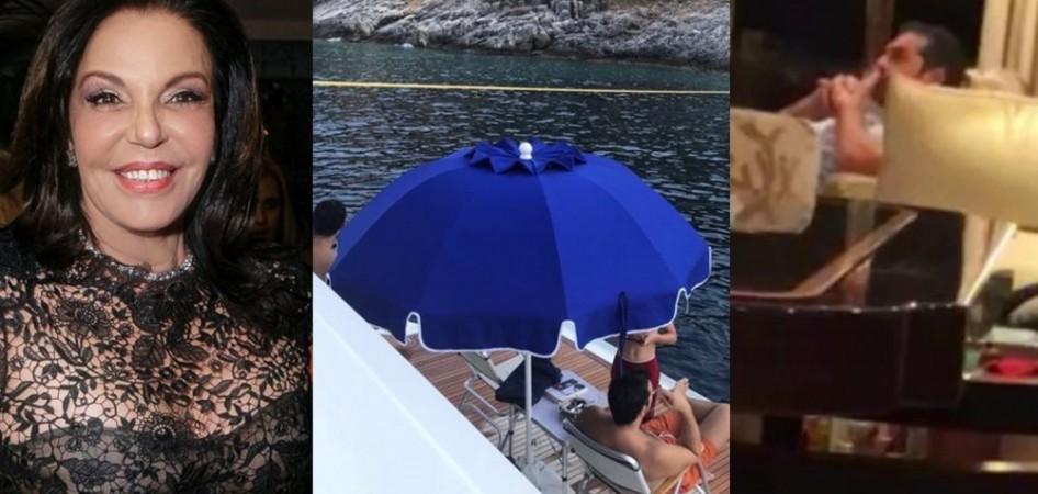 Κατερίνα Παναγοπούλου: Στο σκάφος μας έκανε διακοπές μας ο Αλέξης Τσίπρας