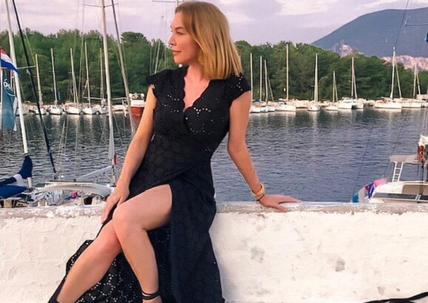 Τατιάνα Στεφανίδου: εντυπωσιακή βουτιά στη θάλασσα!