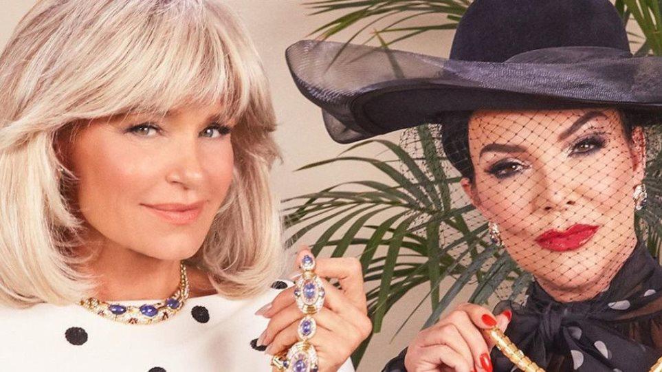 Back to 80's: Κρις Τζένερ και Γιολάντα Χαντίντ μεταμορφώνονται σε Αλέξις και Κρυστλ από τη «Δυναστεία»