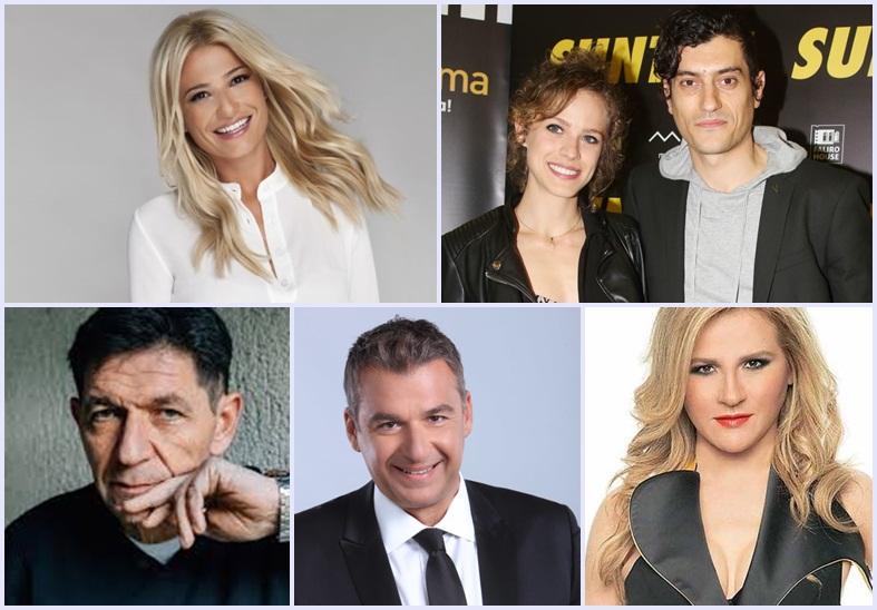 Σχέσεις, κουμπαριές και άγνωστες συγγένειες στην ελληνική τηλεόραση