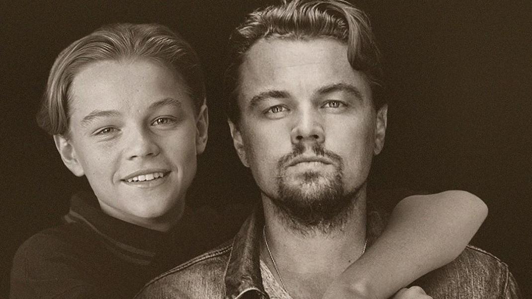 Οι σταρ του Χόλιγουντ ποζάρουν δίπλα στο νεότερο εαυτό τους