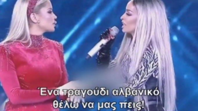 Η Ελένη Φουρέιρα στον τελικό της Αλβανίας για την Eurovision