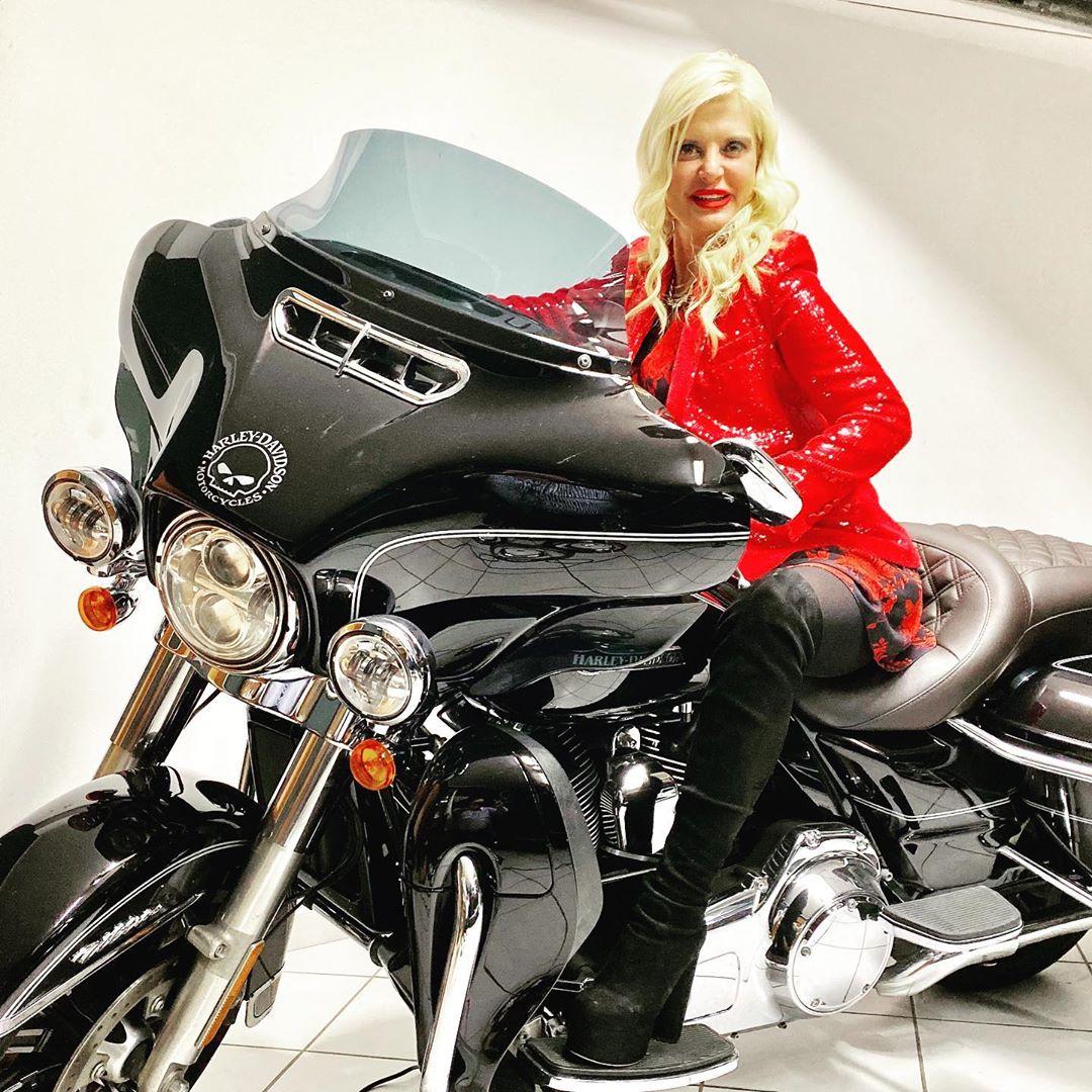 Easy Rider η Μαρίνα Πατούλη