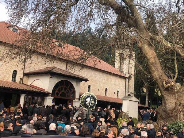 Η κηδεία του Θεόδωρου Νιτσιάκου