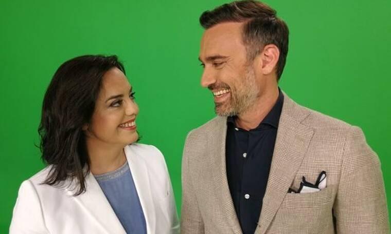 Γιώργος Καπουτζίδης και Μαρία Κοζάκου  ξανά μαζί στο σχολιασμό της Eurovision