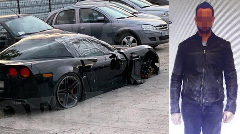 Τροχαίο Γλυφάδα: Δείτε τη φωτογραφία του οδηγού της Corvette