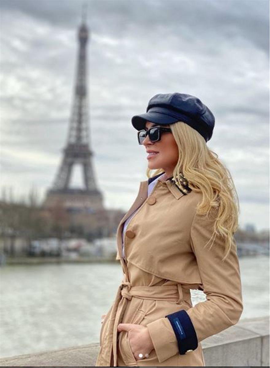 Απόδραση στο Παρίσι για την Κατερίνα Καινούργιου