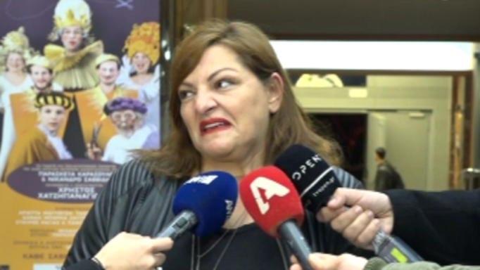 Έξαλλη η Βίκυ Σταυροπούλου: «Φυσικά και στενοχωρήθηκε η Δανάη»