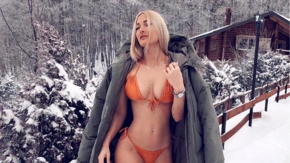 Ιωάννα Τούνη: Με σέξι μπικίνι στο... Καϊμάκτσαλαν