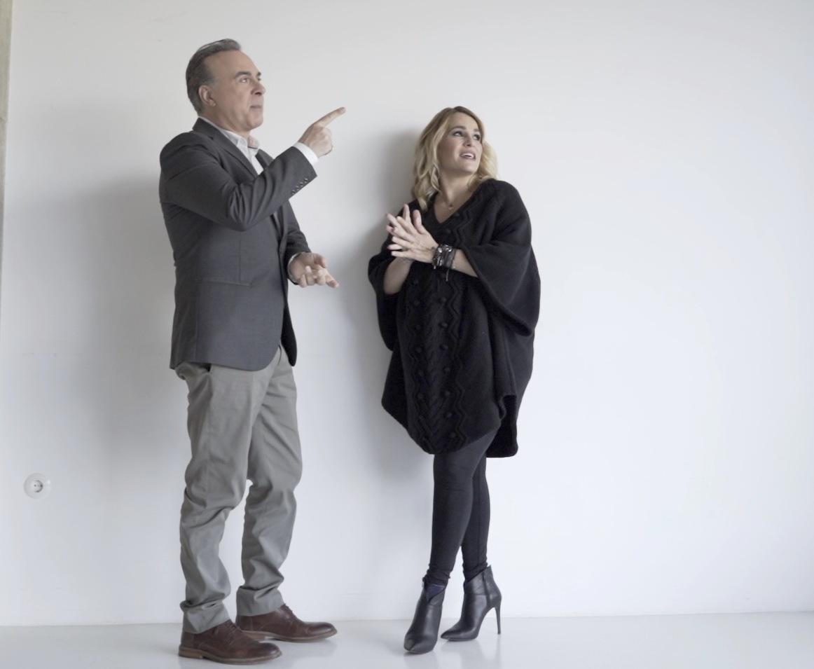 Ο Φώτης Σεργουλόπουλος και η Τζένη Μπότση στο «Σημείο Συνάντησης»