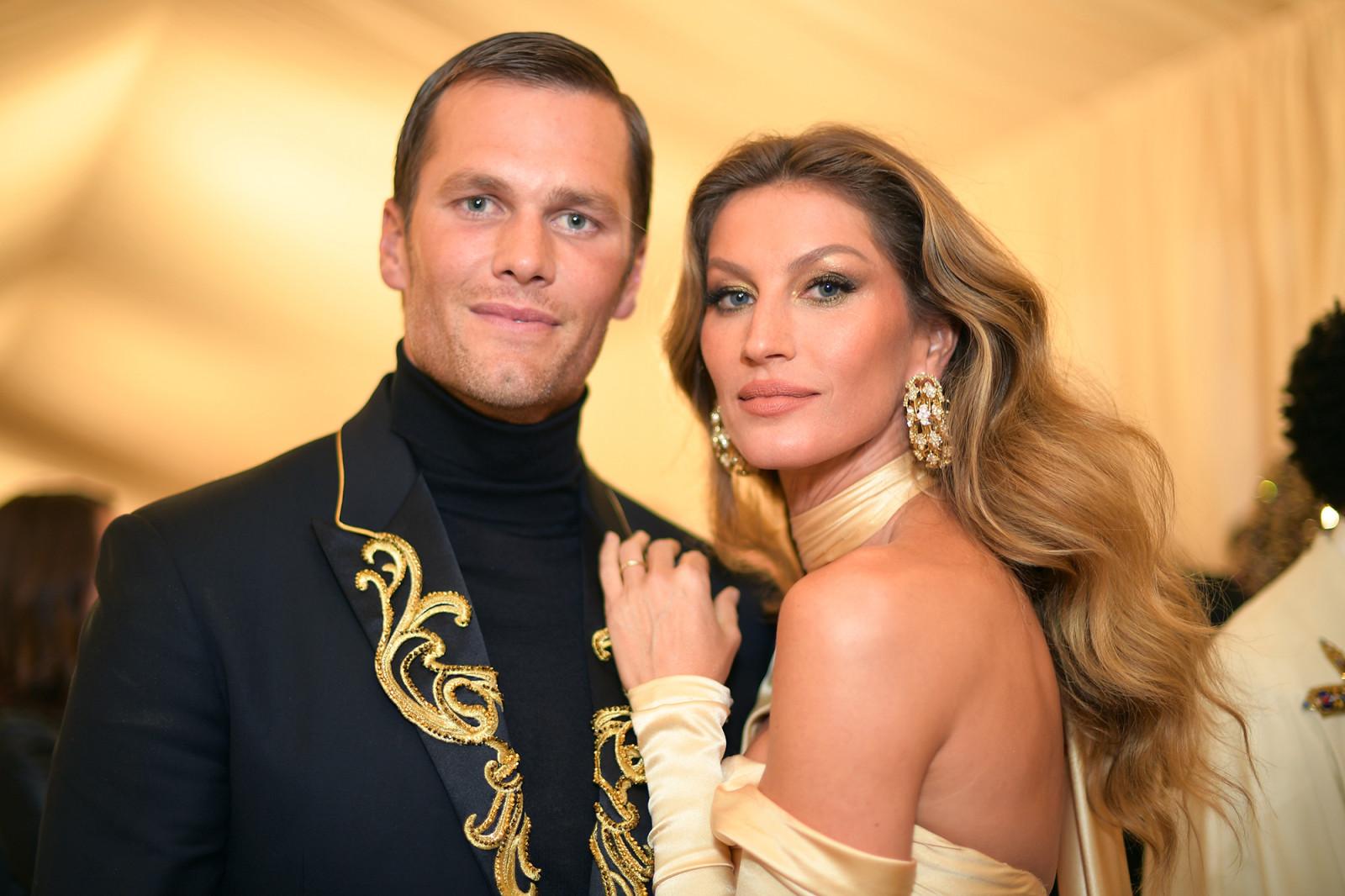 Σύννεφα στo γάμο της Gisele Bündchen και του Tom Brady