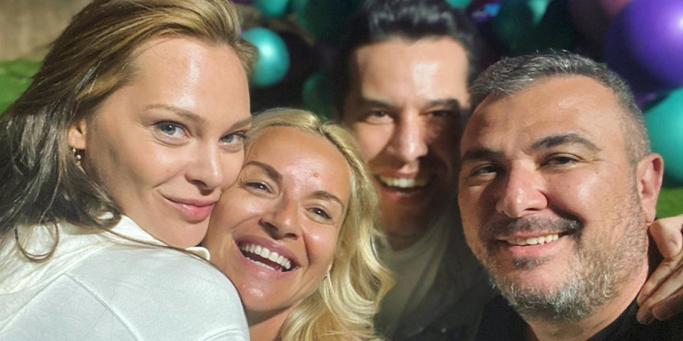 Το πάρτι του Αντώνη Ρέμου και της Υβόννης Μπόσνιακ για την κόρη τους