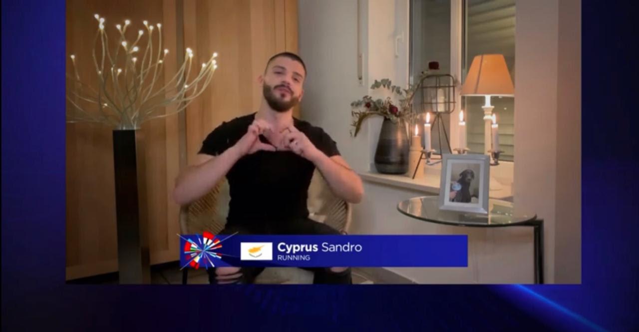 Sandro: Ο εκπρόσωπος της Κύπρου στη Eurovision «μάγεψε» το «Europe Shine A Light»