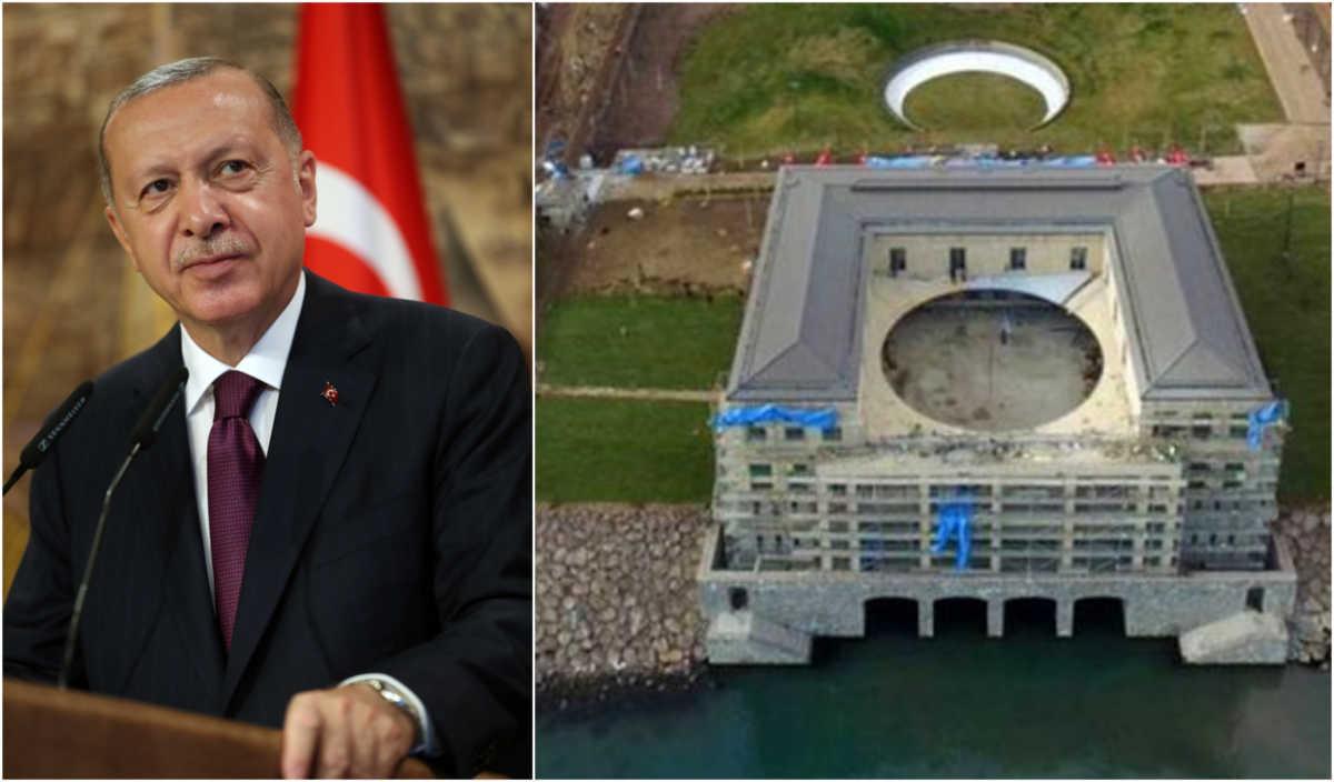 Ενώ η χώρα του βουλιάζει στην οικονομική κρίση ο Ερντογάν χτίζει απίστευτα παλάτια και ζει στην χλιδή