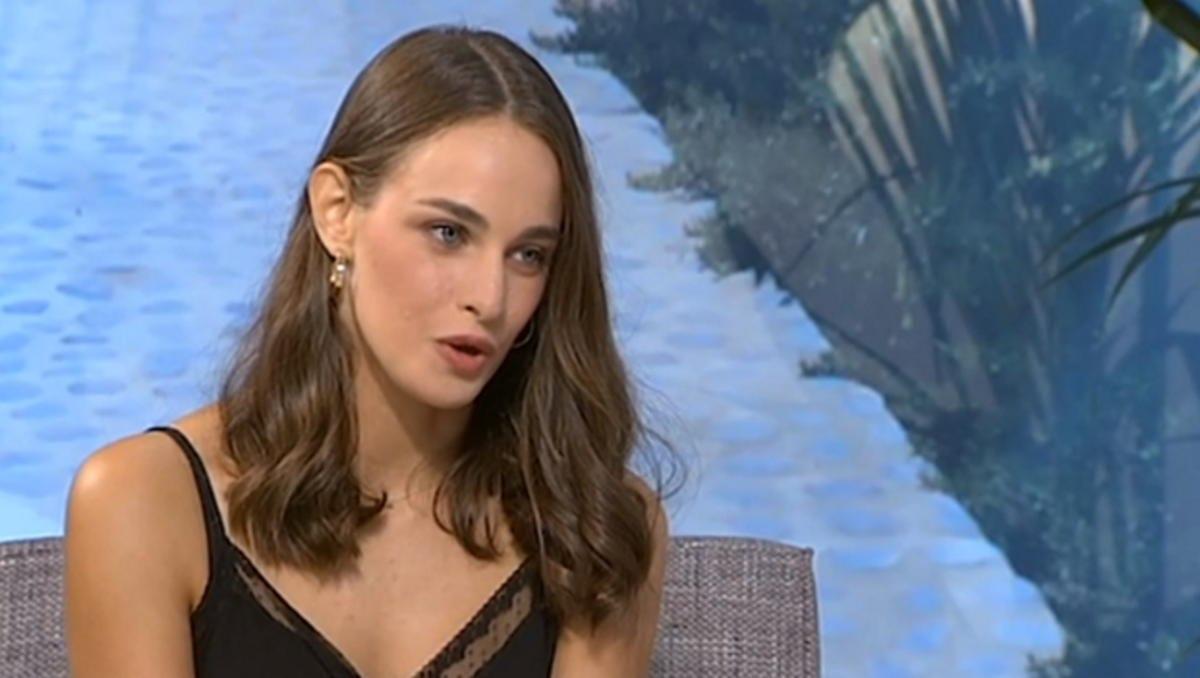 Για πρώτη φορά στην τηλεόραση η 19χρονη κόρη του Τόλη Βοσκόπουλου και της Άντζελας Γκερέκου