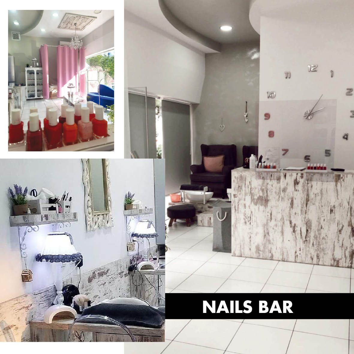 NAILS BAR BY G.V.