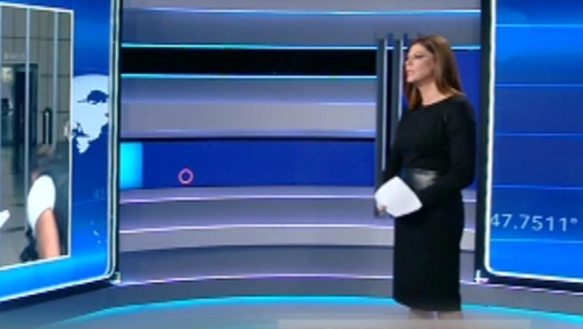 Η απίστευτη στιγμή με τα νεύρα της Λίνας Δρούγκα σε ζωντανή σύνδεση στο δελτίο ειδήσεων του Open