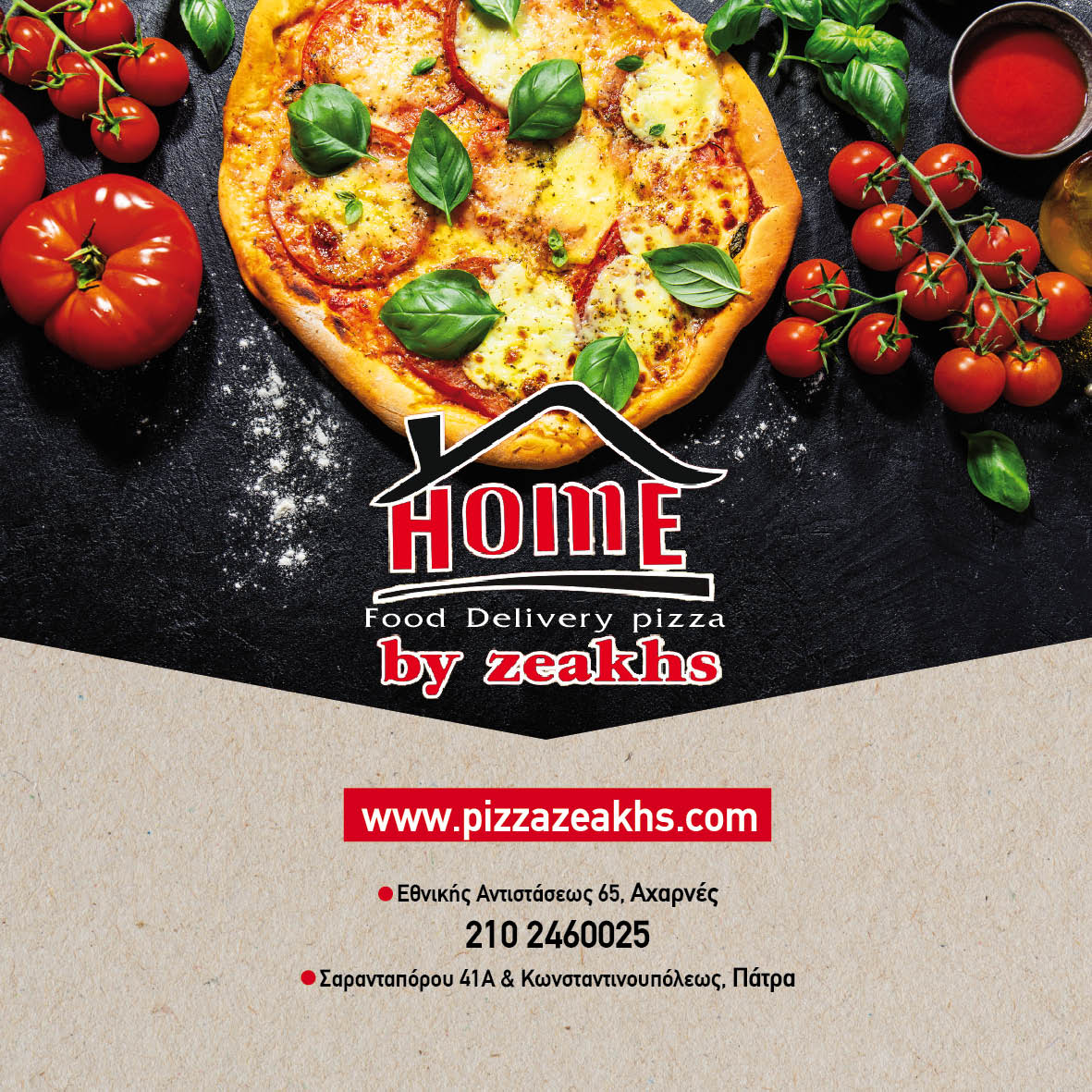 Home Food Delivery Pizza By zeakhs