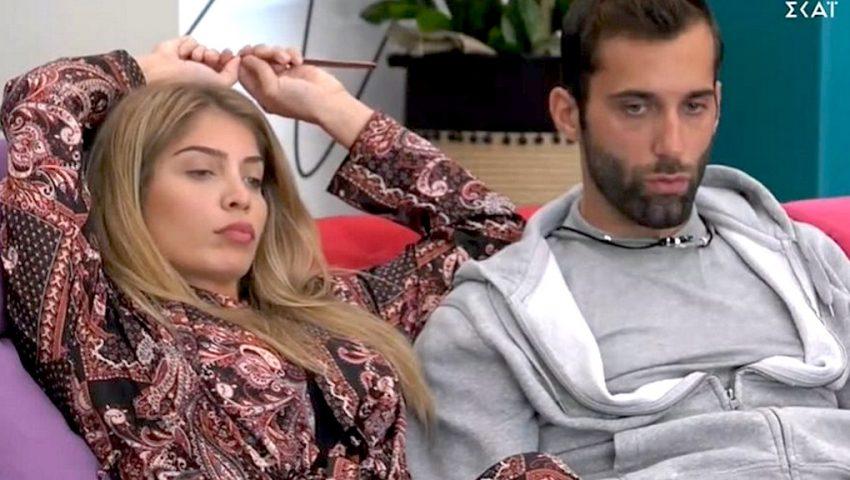 Big Brother: Τα νέα «καυτά» πλάνα της Δανέζη με τον Κεχαγιά