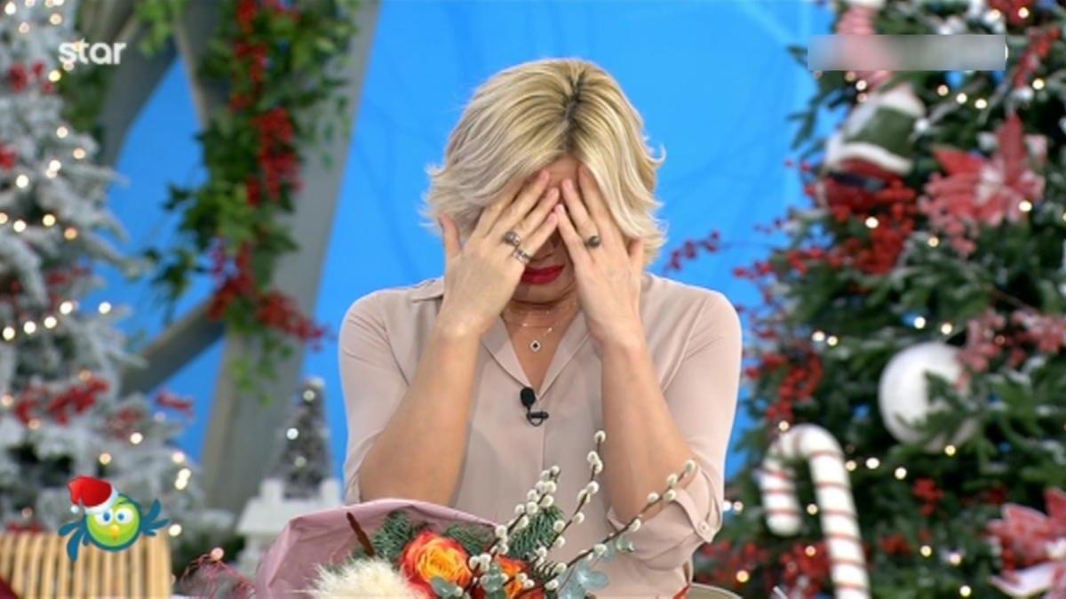 Κατερίνα Καραβάτου: Έκλαιγε με αναφιλητά στον αέρα της εκπομπής της για τη γέννηση του μωρού της Μαρίας Ηλιάκη