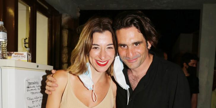 Μαζί στην ζωή μαζί και στην σκηνή η Μαρίζα Ρίζου και ο Οδυσσέας Παπασπηλιόπουλος