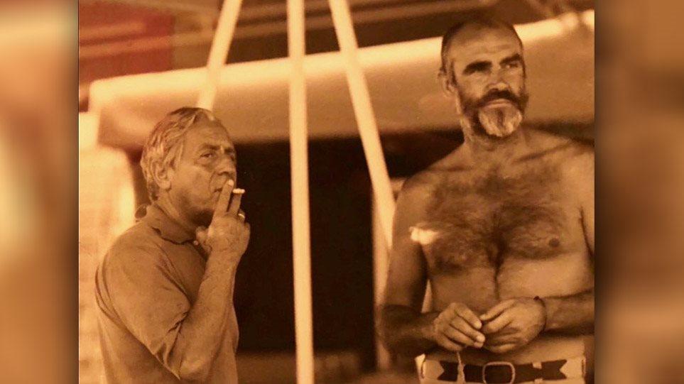 H άγνωστη φιλία του Σον Κόνερι με τον Σταύρο Νιάρχο