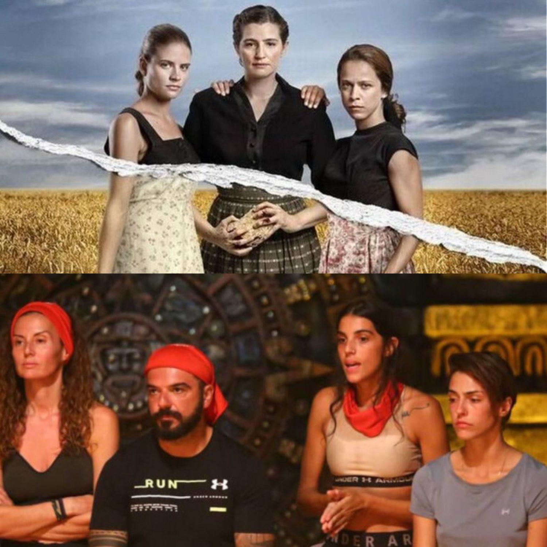 """Βραδινή ζώνη-τηλεθέαση:  Οι Άγριες Μέλισσες επέστρεψαν... και το Survivor """"βυθίστηκε"""" στα νερά του Αγίου Δομήνικου"""