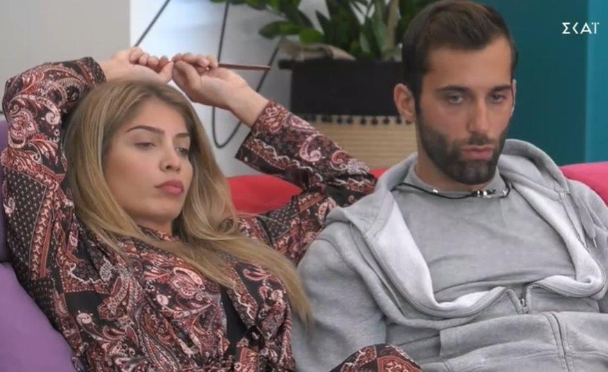 Big Brother: το απίστευτο άδειασμα της Χριστίνας Δανέζη στον Δημητρη Κεχαγιά!  Δεν είναι πλέον ζευγάρι!