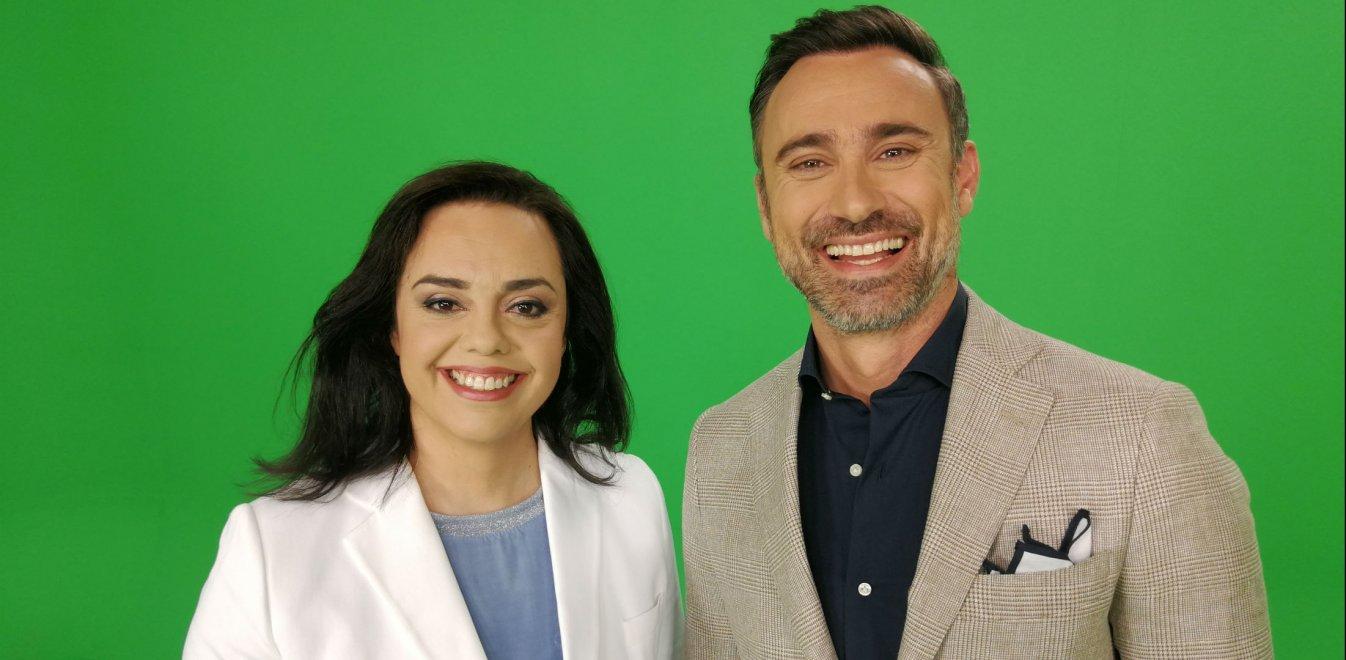Ο Γιώργος Καπουτζίδης και η Μαρία Κοζάκου θα παρουσιάσουν την Eurovision 2021